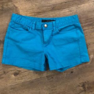 Calvin Klein Jeans Turquoise Shorts Size 4